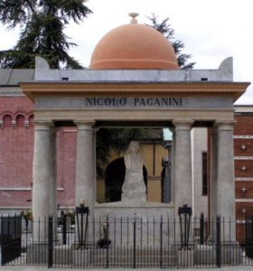 Могила Паганини в Парме